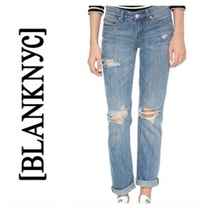 BLANK NYC Tomboy Jeans Meant to be Free Wash